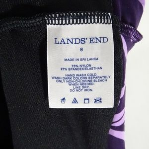 Lands' End Swim - Lands End Tankini Swim Top Ruched Padded Tank